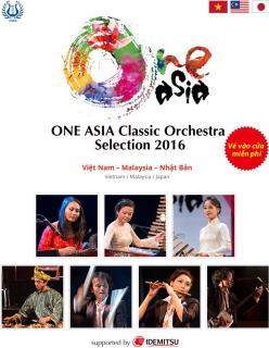 One Asia Classic Orchestra selection 2016